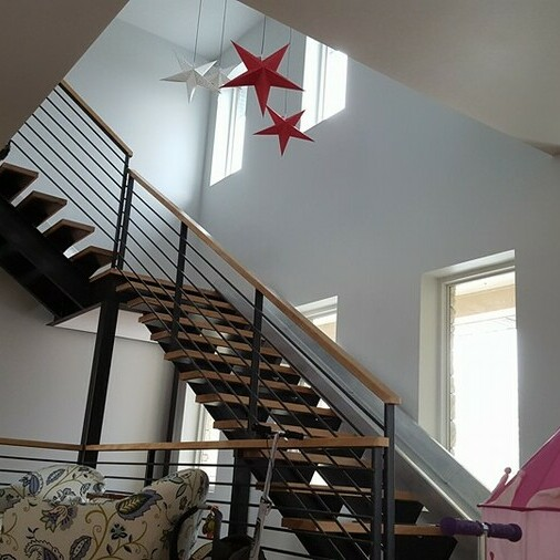Stair Banister Trim